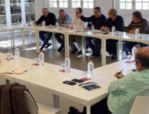La millora del model energètic i l'accés a Can Ruti centren la reunió entre la FAVBadalona i la FAVGrami els seus ajuntaments