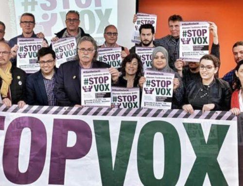 La CONFAVC dóna suport a la manifestació contra el racisme i VOX d'aquest dissabte