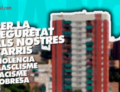 La CONFAVC recolza la manifestació d'avui per la seguretat als barris