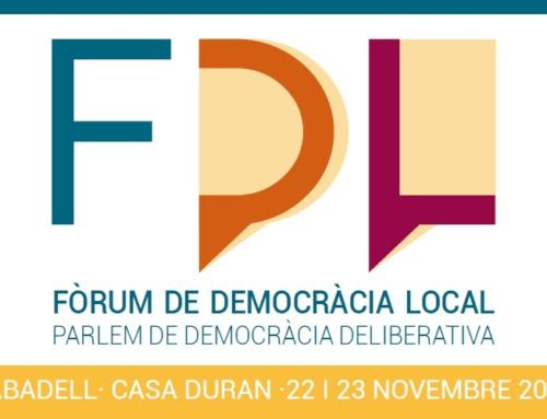 Un ventall variat de persones expertes del món sobre participació i democràcia: el 22 i 23 a Sabadell per un Fòrum