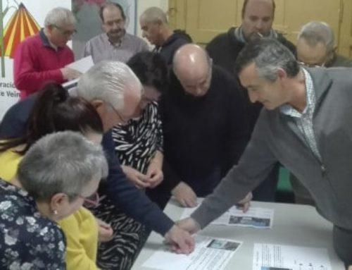 Les associacions veïnals de Manresa, de Sabadell i de Lleida, opinen sobre com enfilar l'agulla al Marc Estratègic