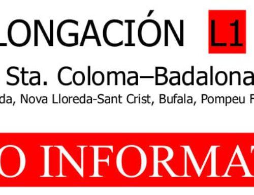 La FAVGram rellença la campanya per a connectar Santa Coloma amb Badalona per metro