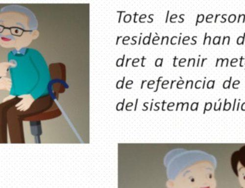 Atenció sanitària en centres residencials: una proposta de futur