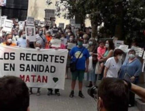 La CONFAVC i diverses federacions, promouen i participen a manifestacions per la sanitat pública de qualitat