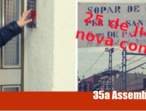 Convocada la 35a Assemblea de les AV de Catalunya aquest 25 de juliol