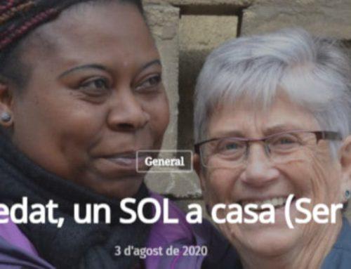 """La cooperativa veïnal SER BARRI, seleccionada a """"Lliures"""" pel projecte """"Contra la soledat, un SOL a casa"""""""