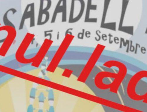 La FAVSabadell sobre la suspensió de la Festa Major de Sabadell 2020