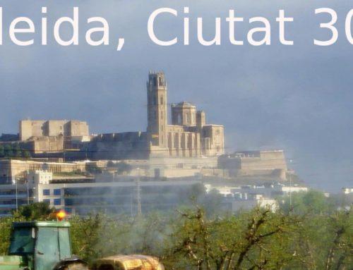 """La FAVLleida aplaudeix la iniviataiva """"Lleida Ciutat 30"""" acompanya de campanyes d'informació"""