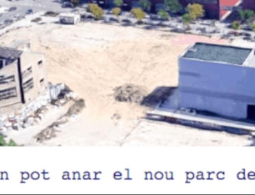 El veïnat del Maresme reivindica un gran parc per al barri