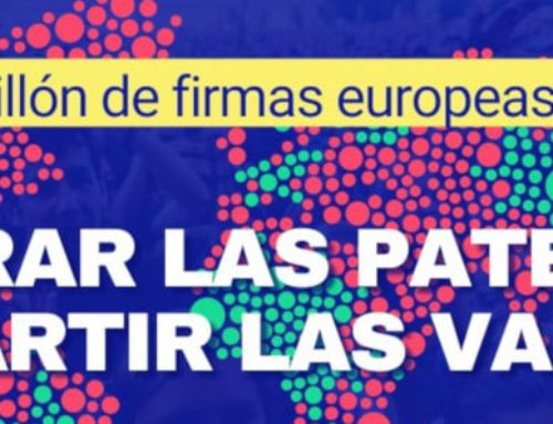 La CONFAVC es suma a la Iniciativa Ciutadana Europea #Right2Cure perquè les patents no frenin la lluita contra la pandèmia de la COVID-19