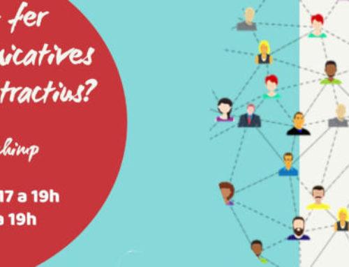 Com crear continguts atractius per les campanyes de comunicació veïnal? 2n curs on-line, 21 i 29 d'abril!
