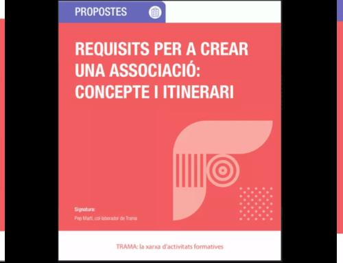 Trama edita una nova col·lecció de fitxes didàctiques per enfortir la gestió associativa de les AV