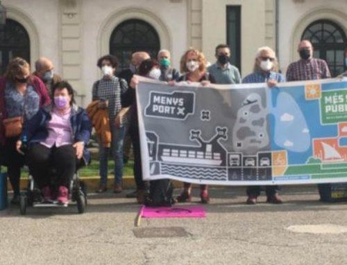 El moviment veïnal del litoral crida a la manifestació contra l'ampliació del port de València del 22 d'octubre