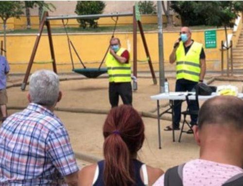 La FAVGram inicia una ronda de visites als barris parlant de l'alça de tarifes elèctriques i la desertificació de seus bancàries