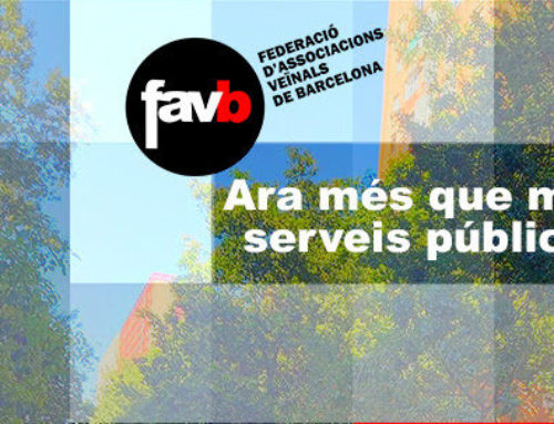 La Favb demana més serveis públics per combatre la pobresa i la precarietat després de la pandèmia